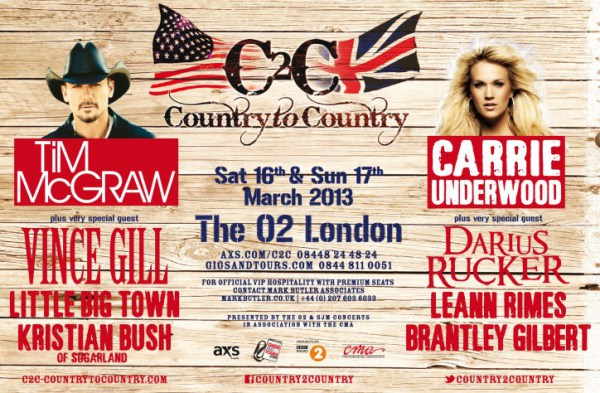 Country To Country 2013