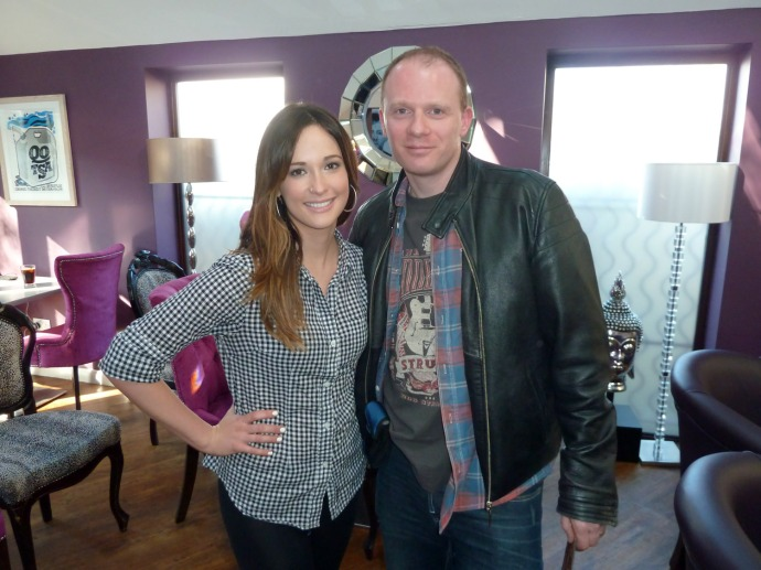 Me (Steve) with Kacey Musgraves at Slipped Discs' Brown Sugar, Billericay – April 20th 2013