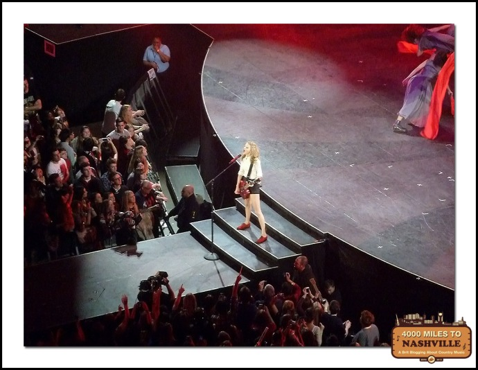 Taylor Swift at The O2, London - Monday 10th February 2014
