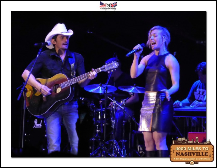 Brad Paisley & Kimberley from The Band Perry Sing Whiskey Lullaby