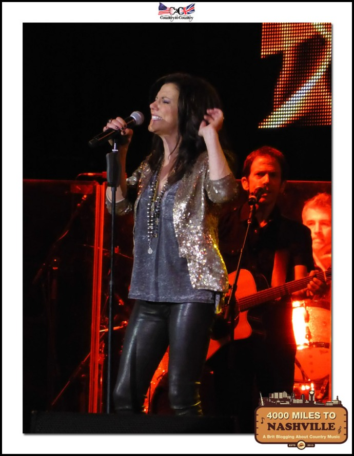 Martina McBride Opens Up The Main Stages of Country 2 Country 2014