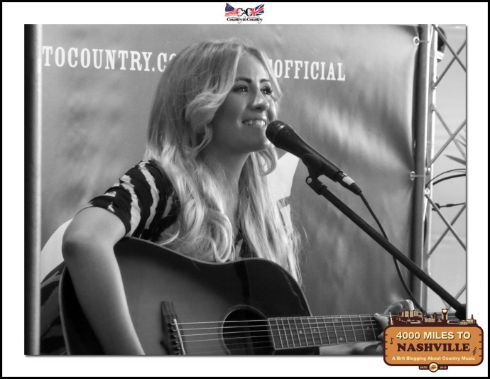 Emma Jade Sings Her Heart Out on the Sunday at the O2 Shop Stage