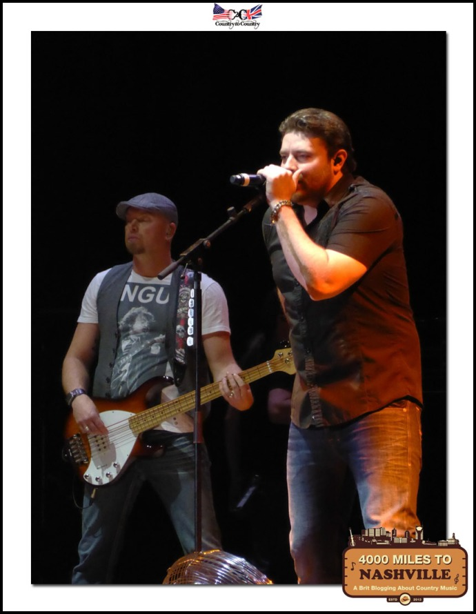 Chris Young Thrilling the Fans as He Opens Up Day 2