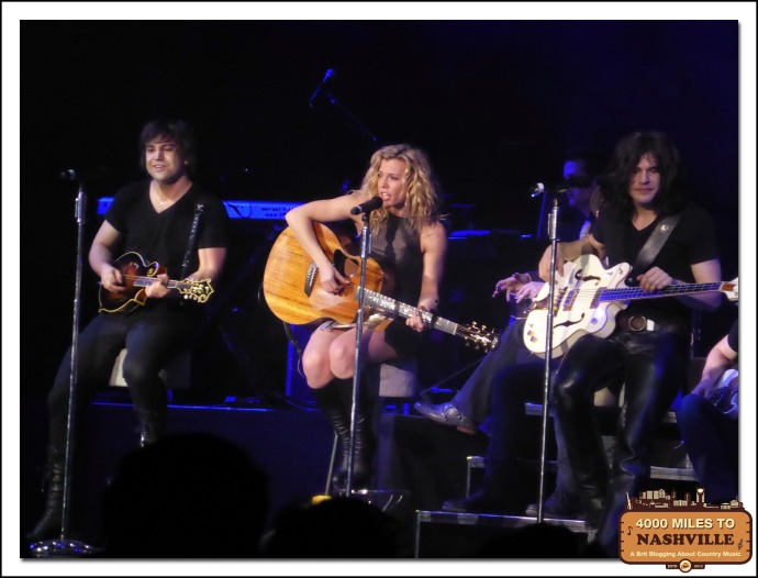 The Band Perry at  Country 2 Country 2014