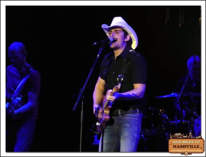Brad Paisley at Country 2 Country 2014