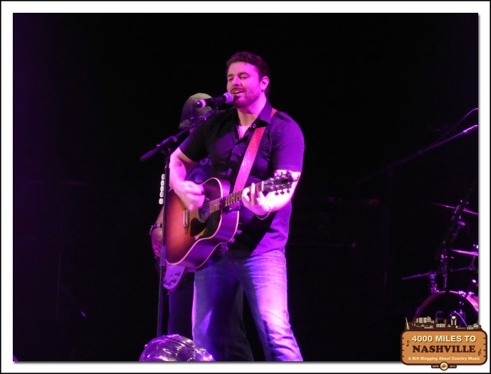 Chris Young at  Country 2 Country 2014