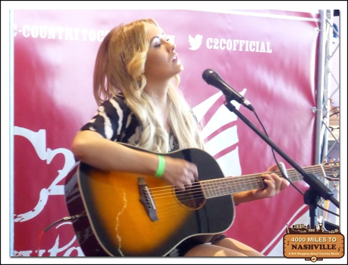 Emma Jade at Country 2 Country 2014