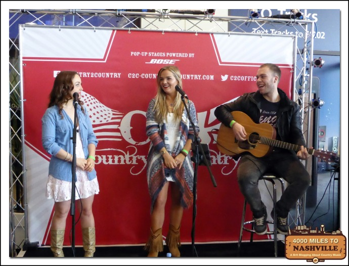 Hannah Jane Lewis Acoustic Set at Country 2 Country 2014