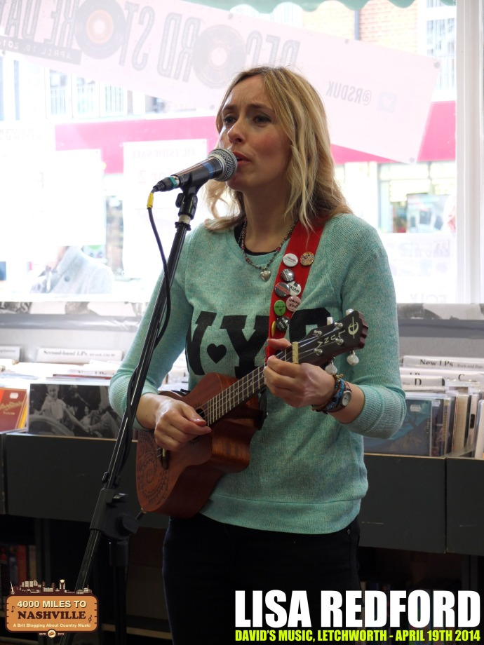 Gig Review: Lisa Redford at David's Music for Record Store Day – 19th April 2014