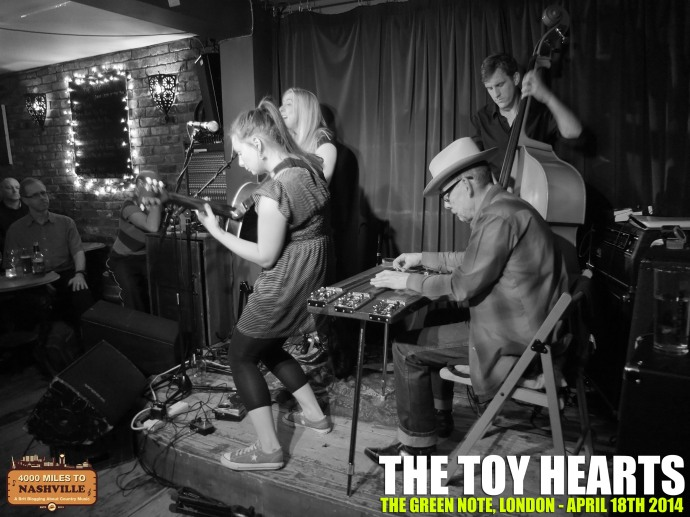 Gig Review: The Toy Hearts at The Green Note, London – Friday 18th April 2014