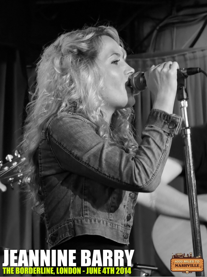 Jeannine Barry at The Borderline, London – 4th June 2014