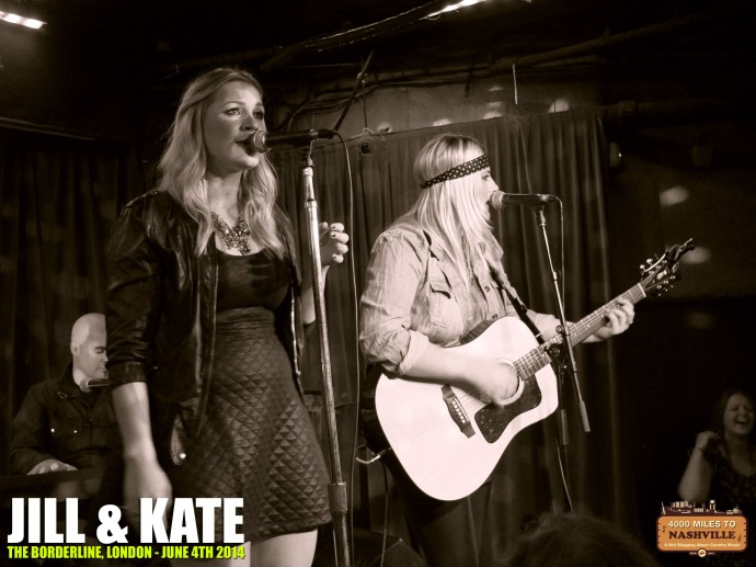 Jill & Kate at The Borderline, London – 4th June 2014