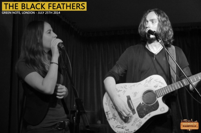 The Black Feathers at Green Note, London – 25th July 2014