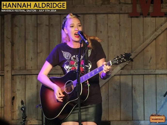 Hannah Aldridge at Maverick Festival 2014