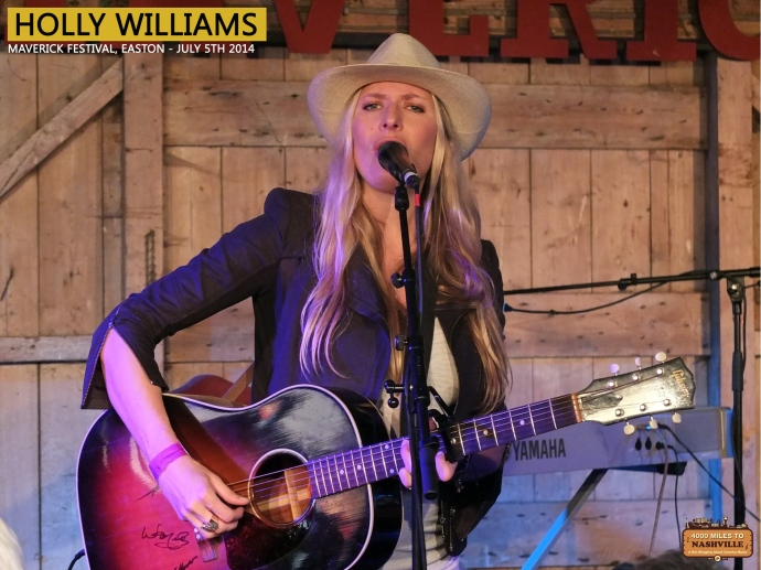 Holly Williams at Maverick Festival 2014