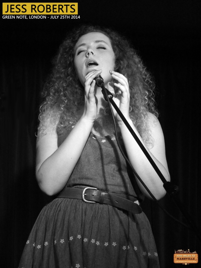 Jess Roberts at Green Note, London – 25th July 2014