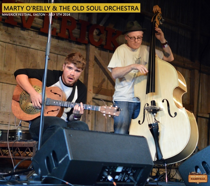 Marty O'Reilly & The Old Soul Orchestra at Maverick Festival 2014