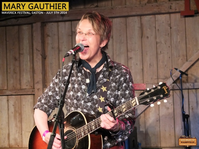 Mary Gauthier at Maverick Festival 2014