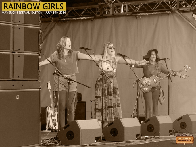 Rainbow Girls at Maverick Festival 2014