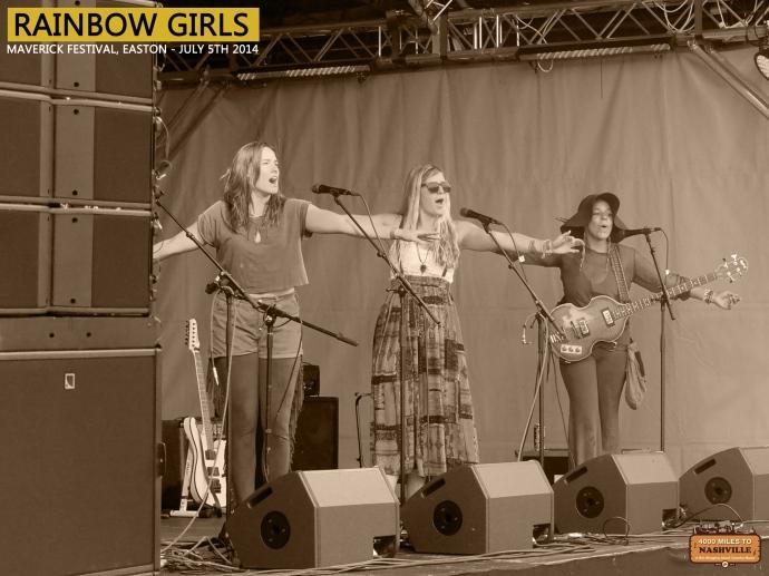 Rainbow Girls at Maverick Festival 2014