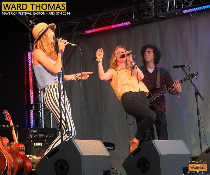 Ward Thomas at Maverick Festival 2014