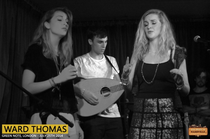Ward Thomas at Green Note, London – 25th July 2014