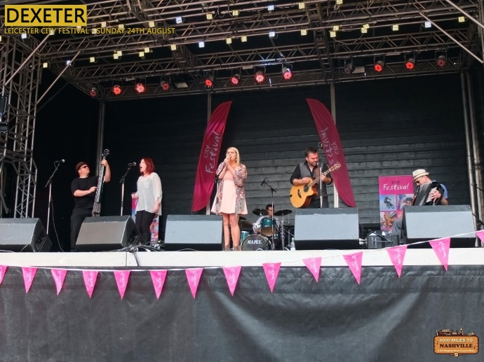 Dexeter at Leicester City Festival - August 24th 2014