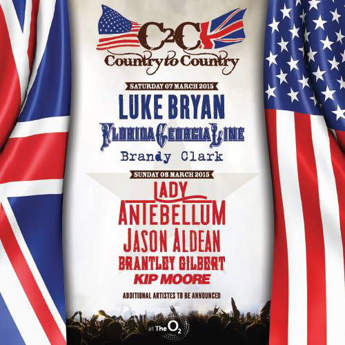 Country To Country 2015 - The Lineup
